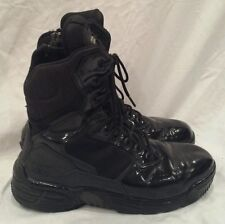 Magnum Stealth Force 8.0 Black Zip Police Army Combat Boots US size 7.5 Wide