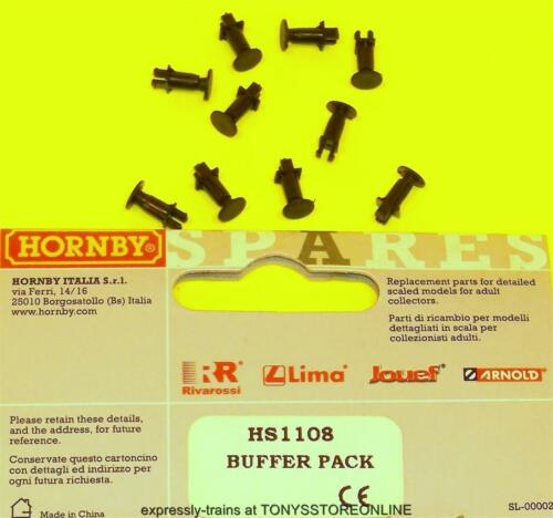 hornby international ho spares hs1108 1x 10 buffer pack suits hl2003//07