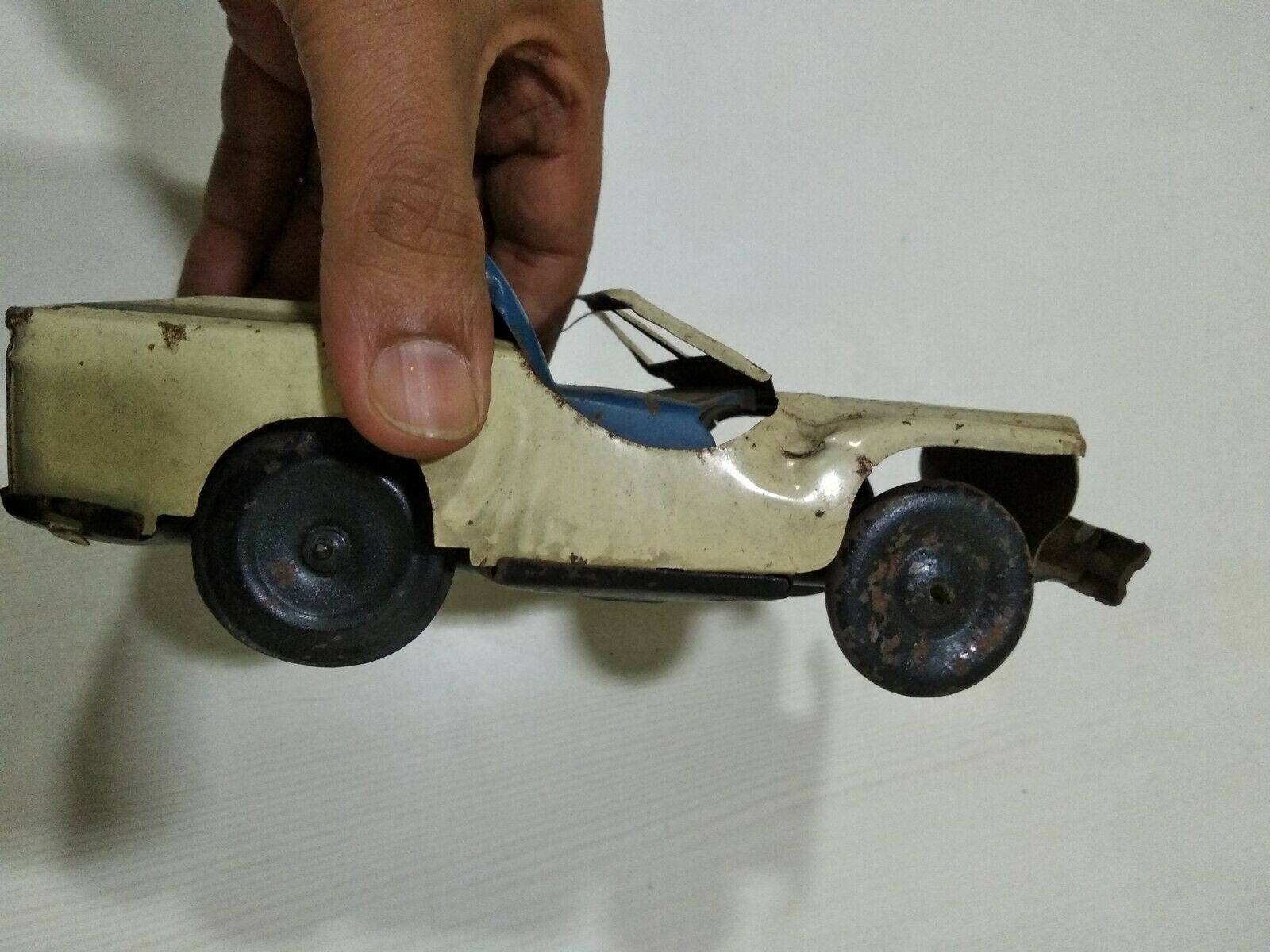 ANTIQUE VINTAGE TIN TOY rare OLD Car Vehicle Motor