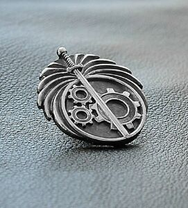 Silver Color Fallout The Brotherhood Of Steel Metal Pin 2 3 4 5 New Vegas 76 Ebay