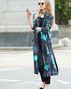DIANE-VON-FURSTENBERG-DVF-Long-Collared-Floral-print-silk-gabardine-wrap-coat
