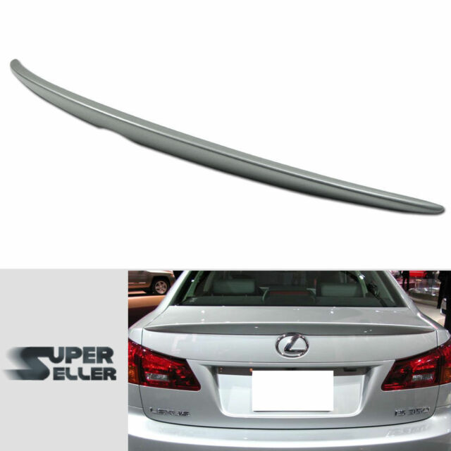 PAINTED for LEXUS IS250 IS350 IS F IS220D OE TYPE TRUNK REAR SPOILER 05-12 1G1