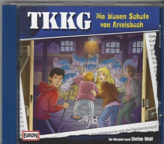 TKKG CD FOLGE 188 Die blauen Schafe von Artelsbach - Europa Hörspiel