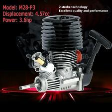 SH M28-P3 4.57cc 2-stroke Pull Start Engine for 1/8 Nitro Truggy RC Car