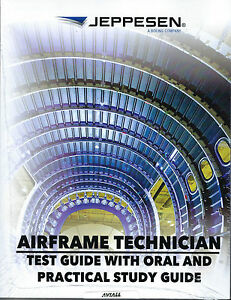Details about Jeppesen A&P Technician Airframe Guide & Practical Study  Guide 10002002-006
