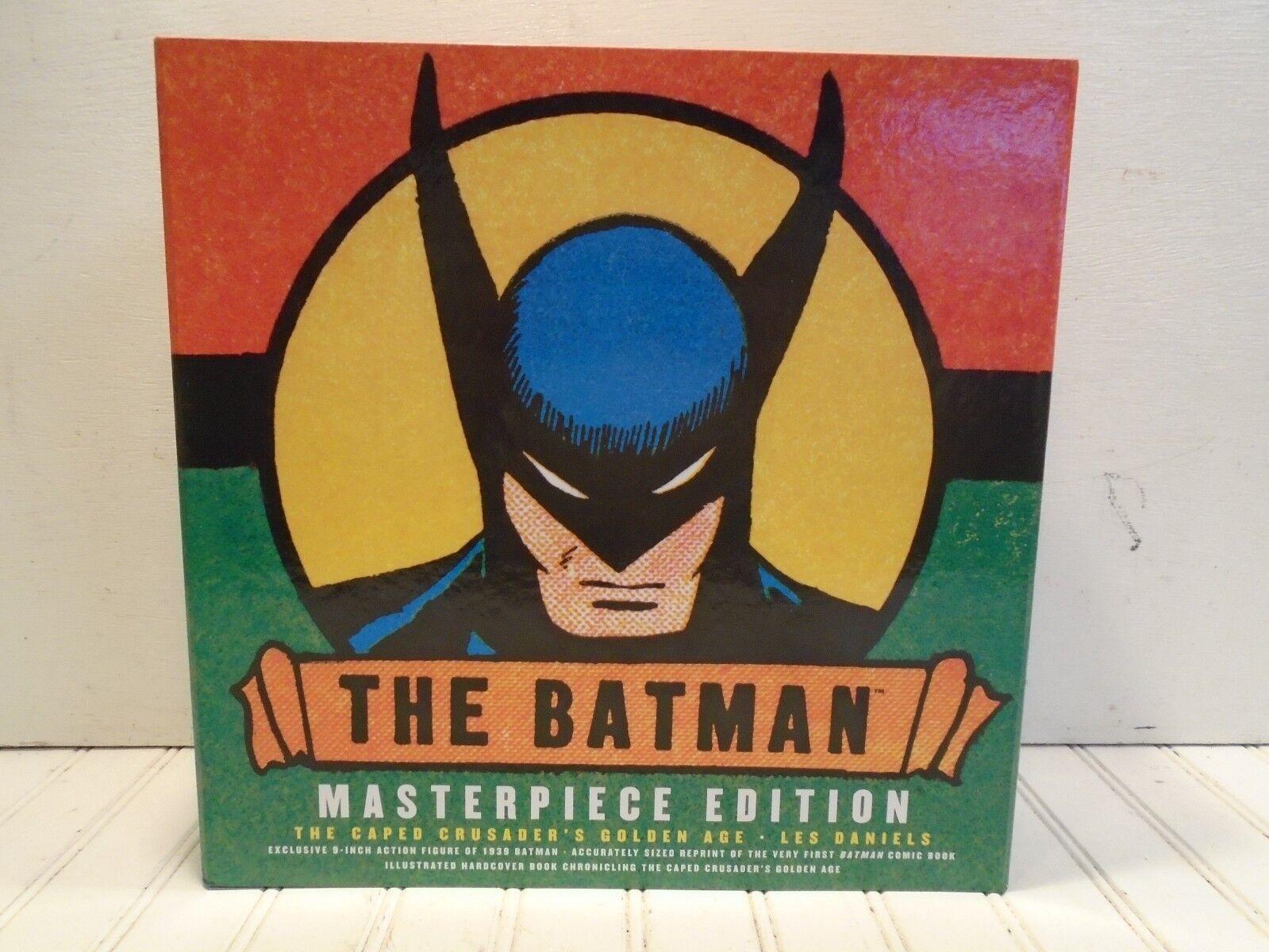 Batman meisterwerk ausgabe - nmint, comic - statue, hardcover - buch