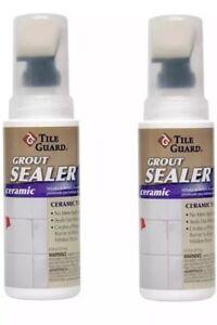 Image Is Loading 2x Tile Guard Ceramic Grout Sealer 4