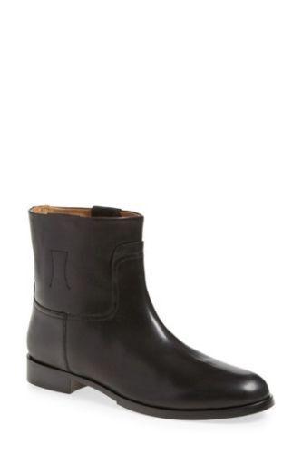 525 Rag & Bone Black Holly Leather Boots  sz EU 36.5   US 6.5