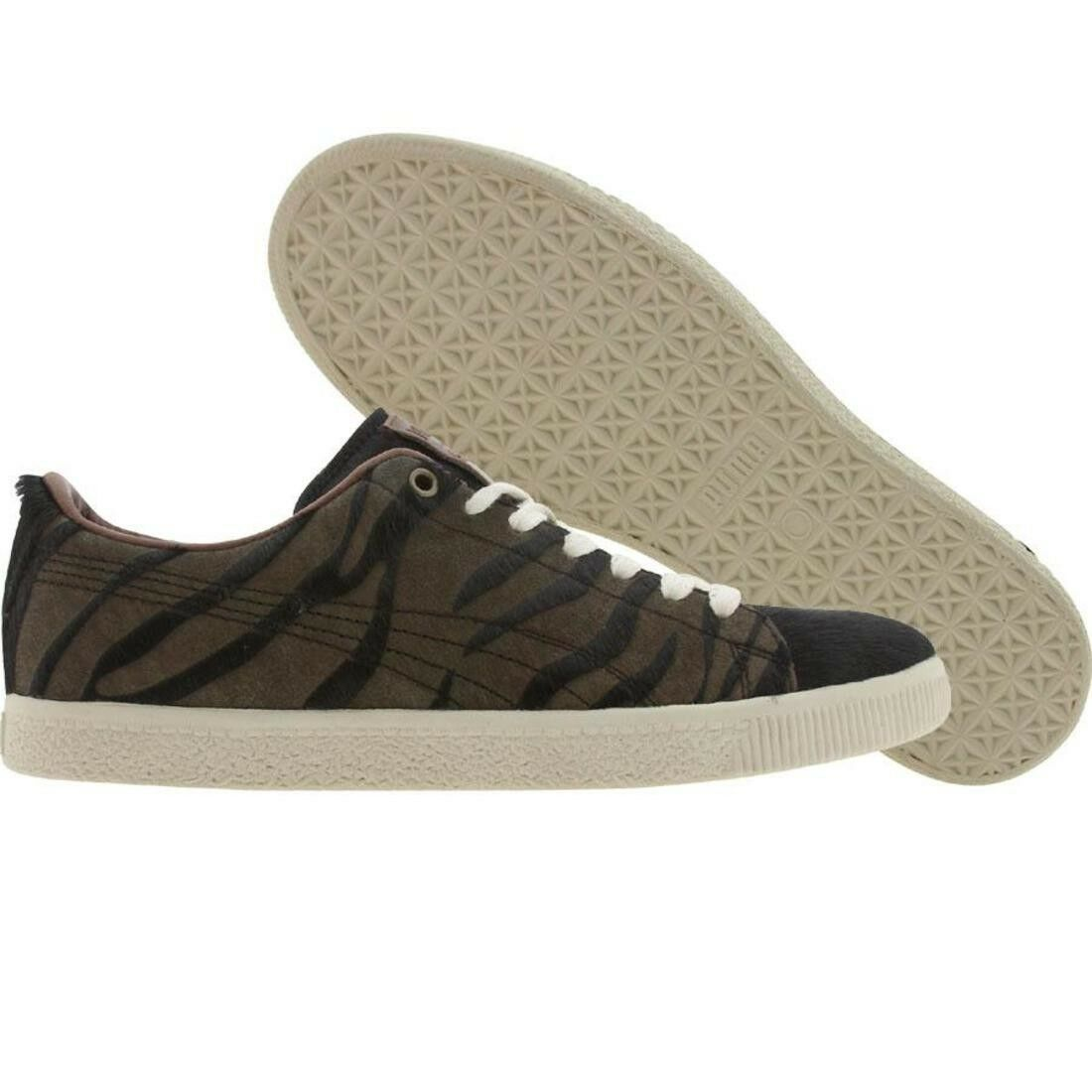 89.99 Puma Clyde Jungle List (schwarz   chocolate braun) 345826-02