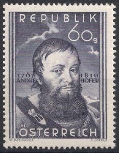 Osterreich-1950-ANK-961-Michel-949-140-Todestag-von-Andreas-Hofer-postfrisch