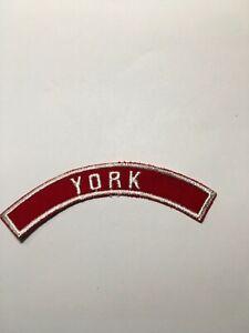 BSA LYNDORA RED AND WHITE CITY STRIP   A01534