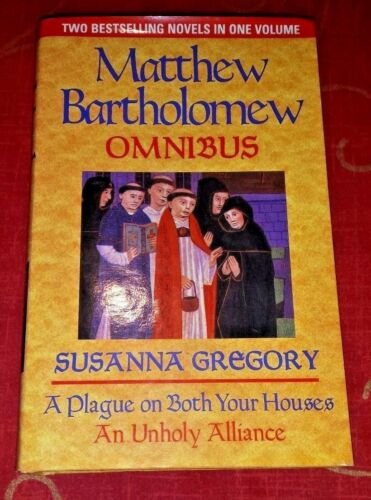 1 of 1 - The First Matthew Bartholomew Omnibus by Susanna Gregory (Hardback, 2001)
