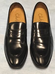 Image is loading Men-039-s-Cole-Haan-Black-Dress-Loafers-