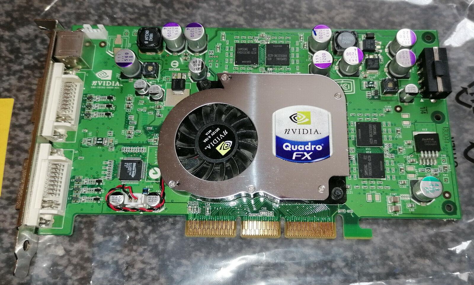 NVIDIA Quadro FX 1100 128MB 2x DVI PNY VCQFX 1100