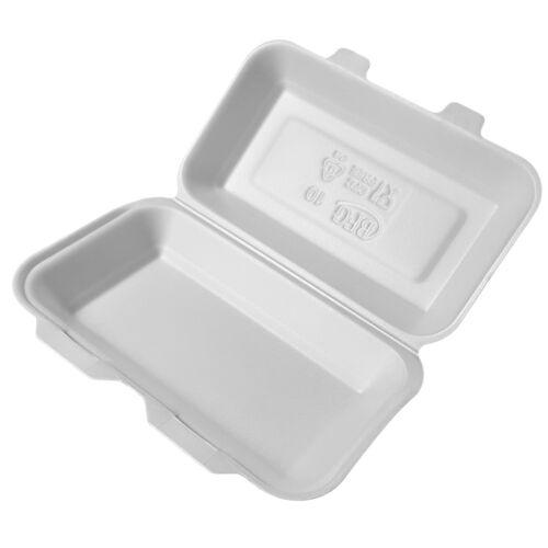 Lunchbox ✔️ Hamburberbox ✔️ Imbissbox ✔️ 250 ✔️ weiss ✔️ HB10 ✔️