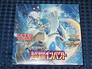 photo about Pokemon Card Printable named Information and facts concerning Pokemon Card Recreation Sunshine MOON Explosive Have an impact on SM8 Booster Box 1st Print JAPAN FS