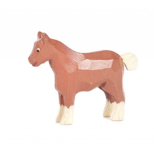 REIFENTIER Kaltblutpferd NEU Erzgebirge Reifentiere Volkskunst Tiere Pferd Wald