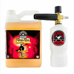 Foam Cannon Soap >> Details About Chemical Guys Eqp316 Torq Foam Cannon Stripper Suds Car Wash Soap 1 Gal