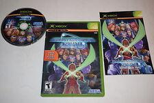 Phantasy Star Online Episode I & II Microsoft Xbox Video Game Complete