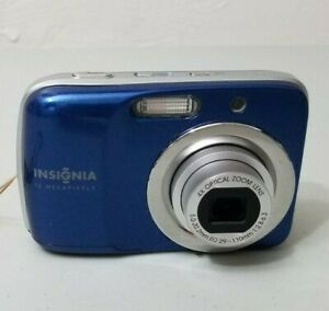 Camara-digital-Insignia-NS-DSC1112-12-0-Mega-pixele-azul-Buena-Probado