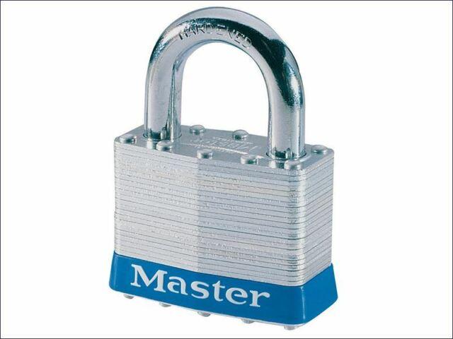 Master Lock - Candado de acero laminado de 51 mm, 4 clavijas