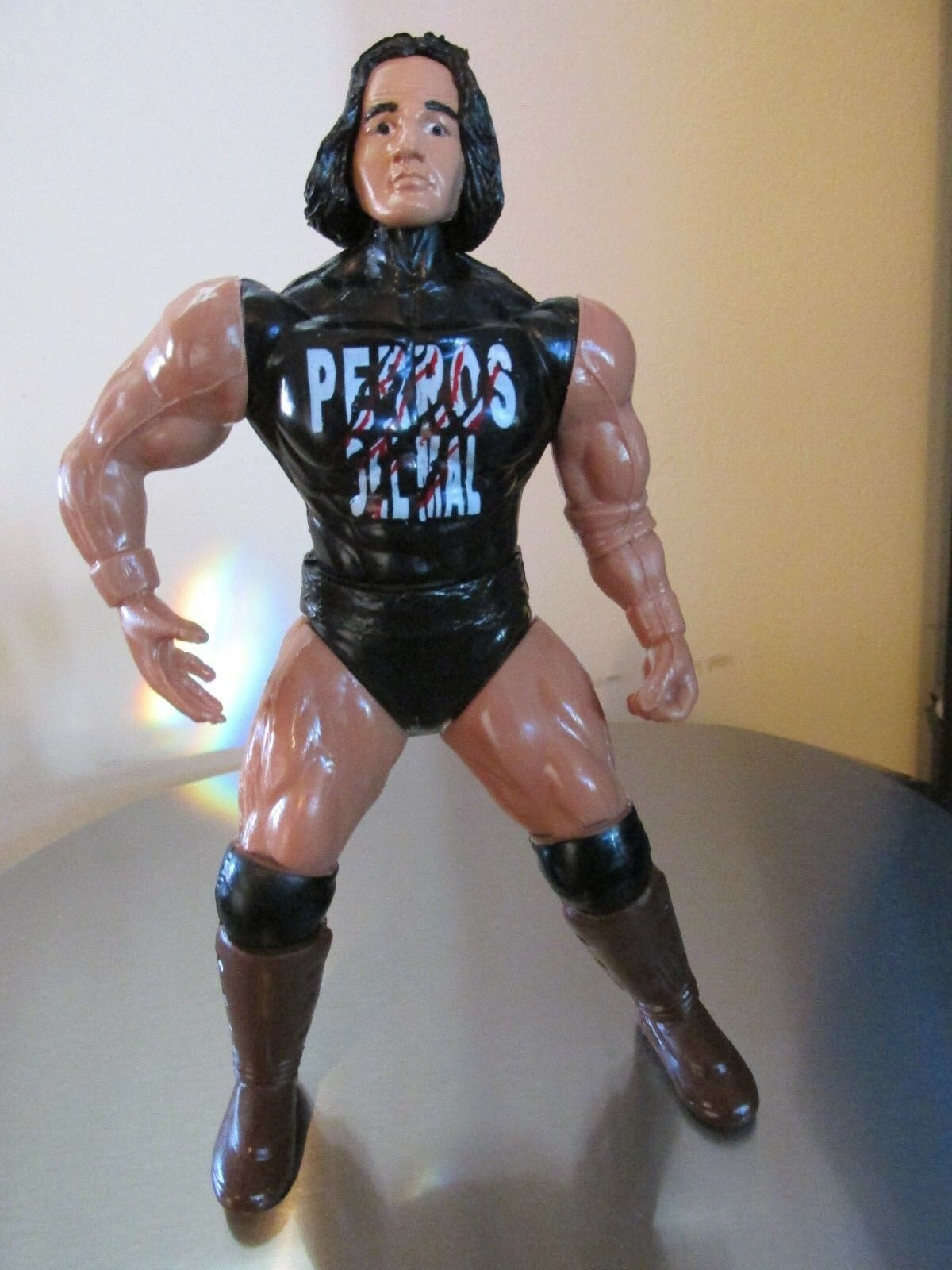 Perro Aguayo Jr Lucha Libre Action Figure WCW CMLL AAA Loose 7 inches Loose