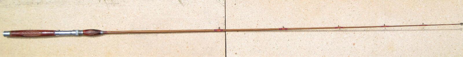 Antique Heddon PAL OFFICIAL Convention 6' 6 Rod CARVED WOOD Handle Decor Display