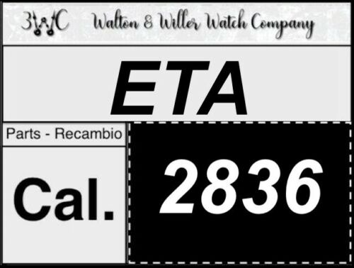 1 pc ETA 2836 original parts vintage GENUINE manual movement New NOS 3WC