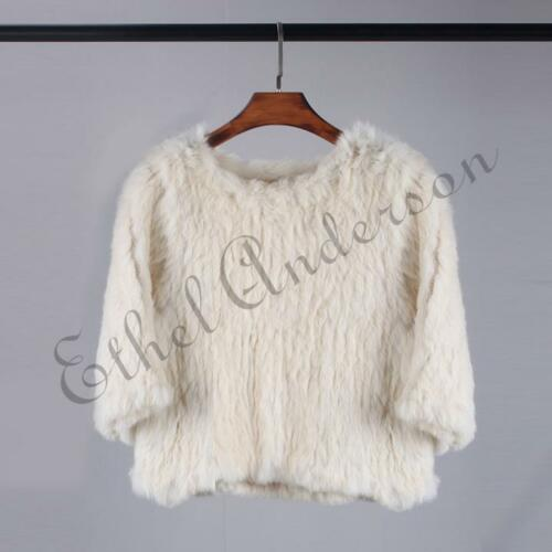 a da cappuccio vera in lavorata pelliccia donna vogue con maglia Giacca donna in da qTxyRwAw6