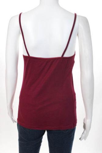 Studio la Perla Perla Perla Spalline Sottili Canottiera colore Rosso Taglia Large 0013495 - 715a94