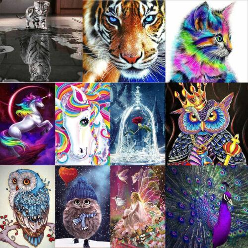 Animal DIY 5D Diamond Painting Embroidery Cross Craft Stitch Kits Art Home Decor