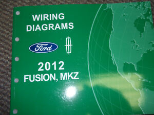2012    FORD       Fusion       Lincoln       MKZ    Electrical Wiring    Diagram    Shop Service Manual OEM   eBay