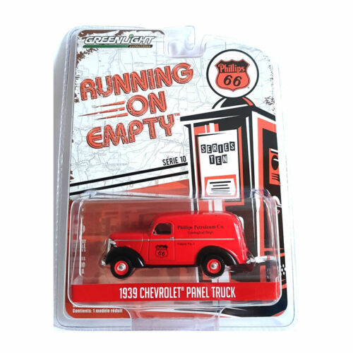 """Greenlight 41100-A Chevrolet Panel /""""Phillips 66/"""" rot-Running on Empty 1:64 NEU!°"""