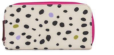 Bellissimo Pink Lining Wallet Dalmatian Febbre Bambino Viaggio Negozio Bn-mostra Il Titolo Originale