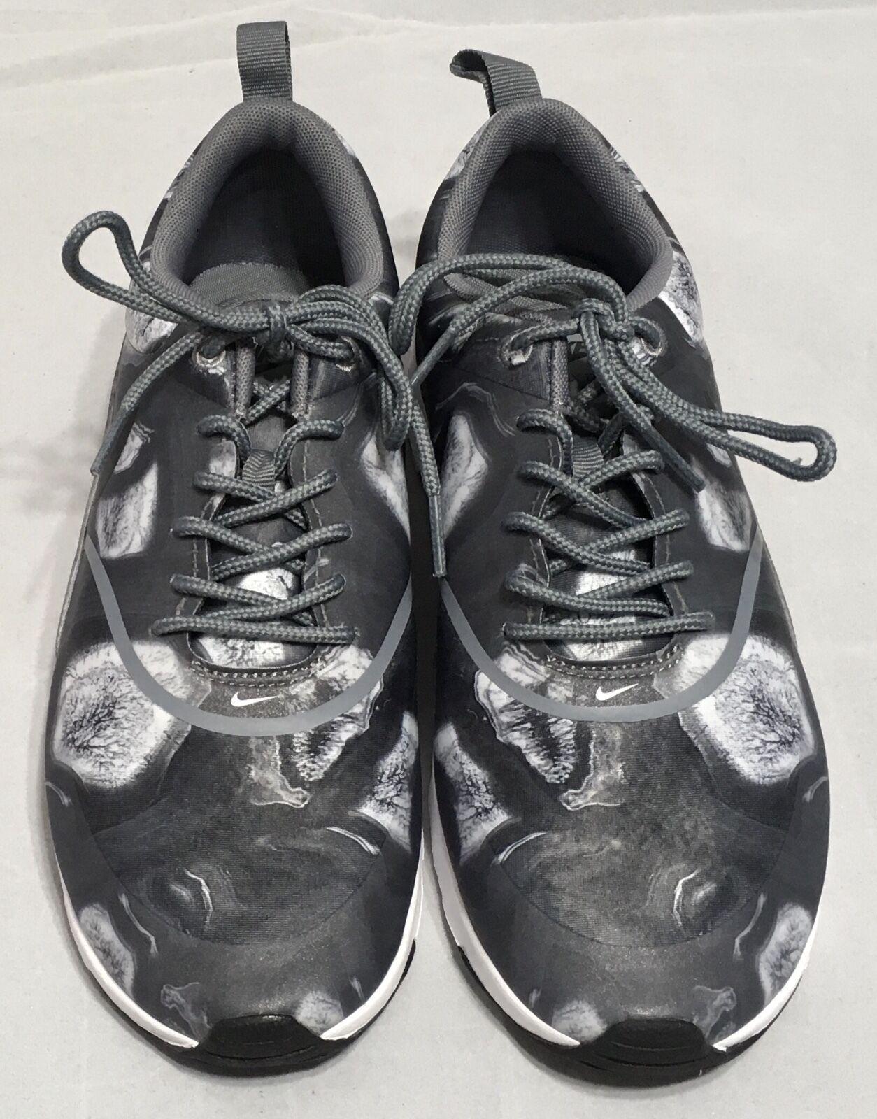 6e413ae77ff4 ... Nike Air Air Air Max Thea Print Women Shoes 599408 013 Gray Sz 6.5 8  8.5 ...