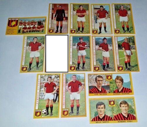 1969-70 Squadra MILAN Calciatori Panini SCEGLI *** figurina recuperata ***