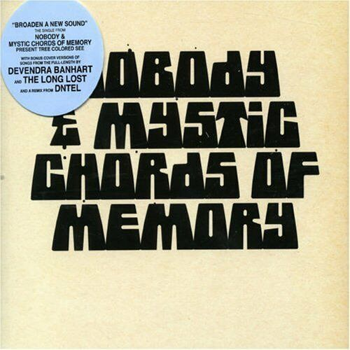 Nobody And Mystic Chords Of Memory | Single-CD | Broaden a new sound (2006)