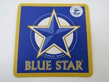 Collectible Coaster ~ NORTH COAST Brewing, Ft. Bragg, CALIFORNIA Blue Star BEER