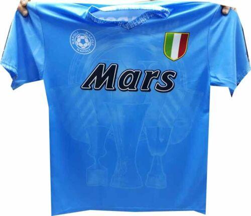 T-Shirt Diego Maradona Maillot Naples Mars Italie