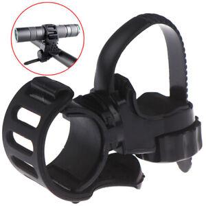 360-Adjustable-Bicycle-Bike-Flashlight-Torch-Clamp-Clip-Mount-Bracket-HolderSO