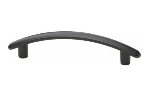 Design Möbelgriff Küchengriff Schrankgriff Stangengriff schwarz lackiert 125 mm