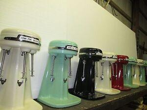 Hamilton Beach Triple Single Milkshake Mixers Multimixer Restoration Dm40 Ebay