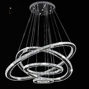 Modern-LED-Crystal-Round-Ring-Chandelier-Pendant-Lamp-Ceiling-Lights-Adjustable