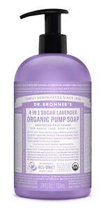 Dr-Bronner-s-Organique-4-in-1-sucre-lavande-savon-709ml-commerce-equitable