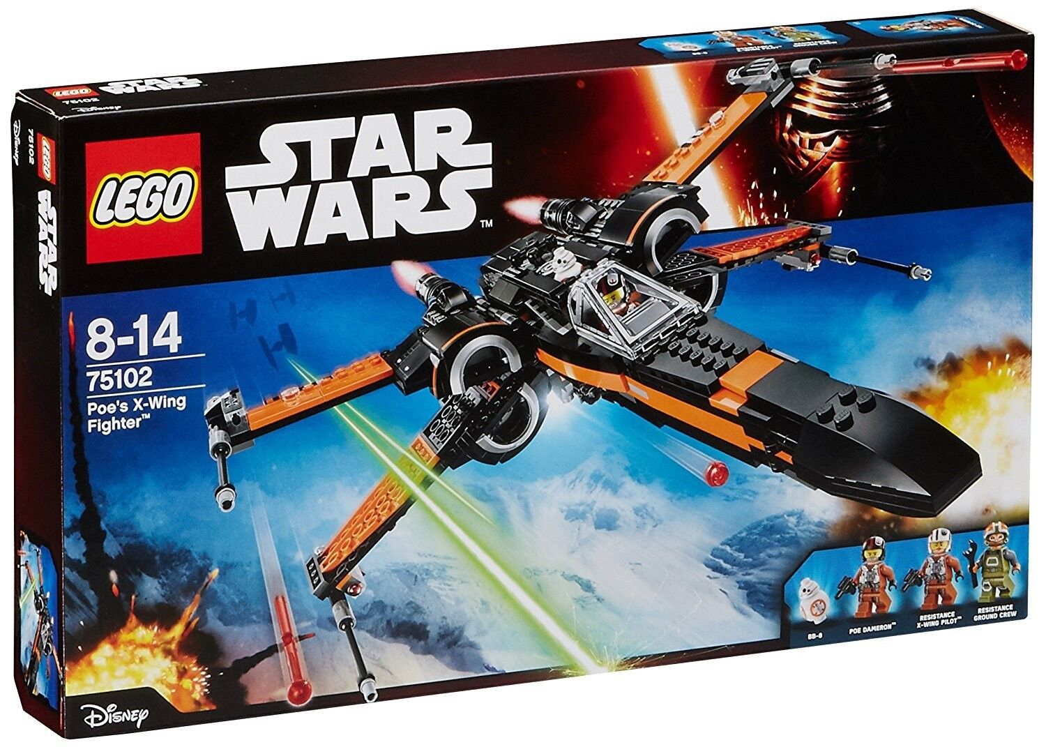 Lego Set 75102 - Star Wars Poe's X-Wing Fighter - RETIrot, BRAND NEW