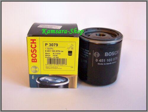 * Filtre à huile BOSCH 0451103079 Buick Daewoo Isuzu Nissan Opel pontiac rover saab zaz