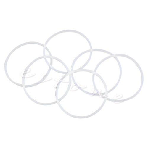 6Pcs New Replacement Gaskets Rubber Seal Ring For Magic Bullet Flat//Cross Blade