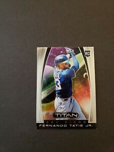 #555 2019 Panini Chronicles Baseball Fernando Tatis Jr Rc Titan