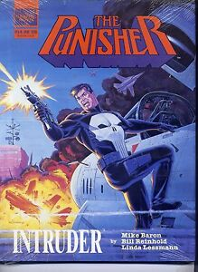 The-Punisher-Intruder-Hard-Cover-with-Dust-Jacket-Still-Sealed-Marvel-NM