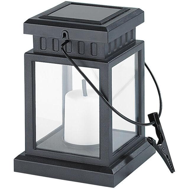 Lunartec Solar-LED-Laterne im asiatischen Design